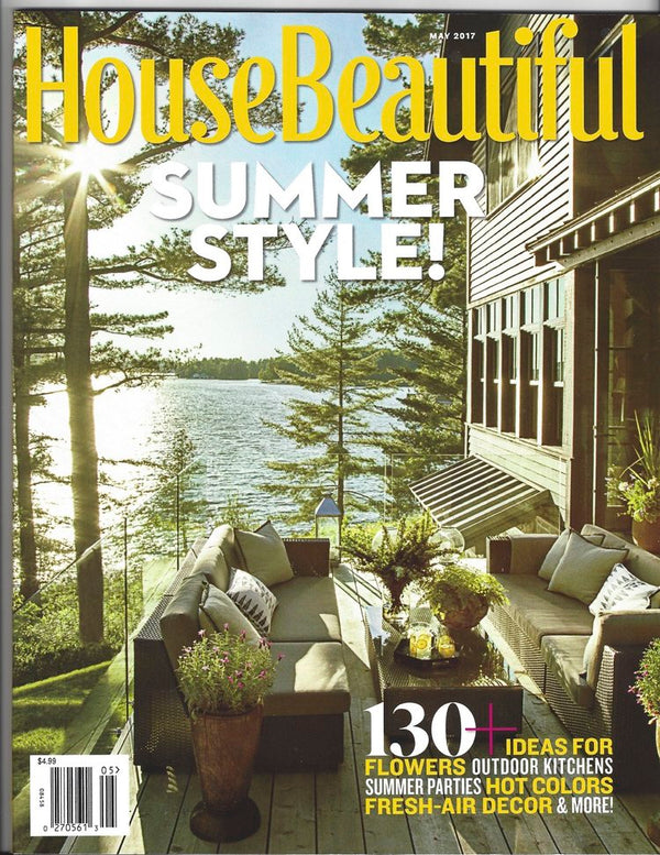 May 2017 Issue of HouseBeautiful
