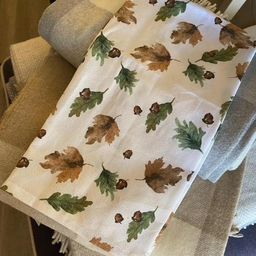 Acorn Leaf Kitchen Towel