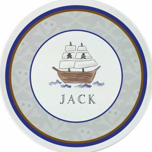 Ahoy Matey Plate - Personalized