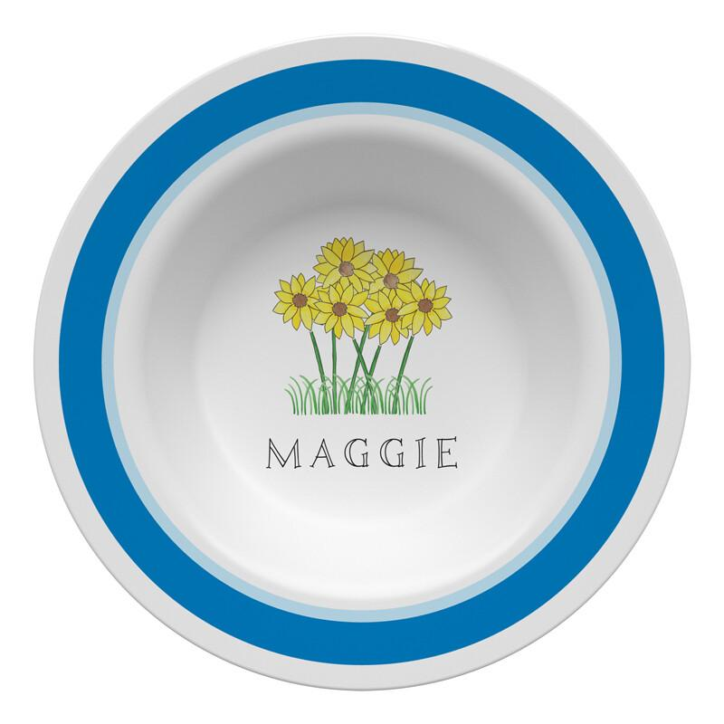 Wildflowers Tabletop Collection - Bowl - Personalized