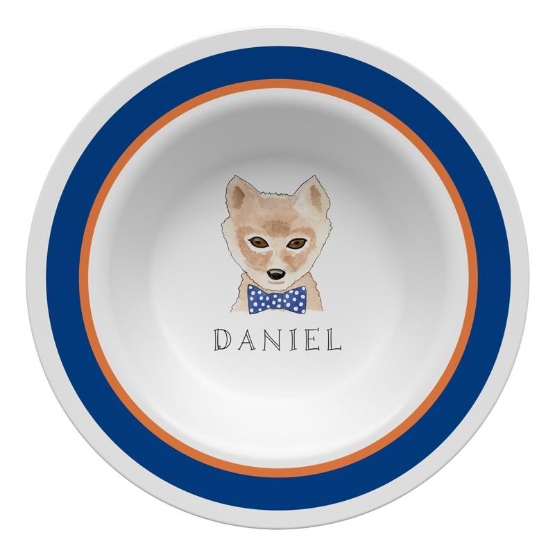 Woodsy Fox Tabletop Collection - Bowl - Personalization