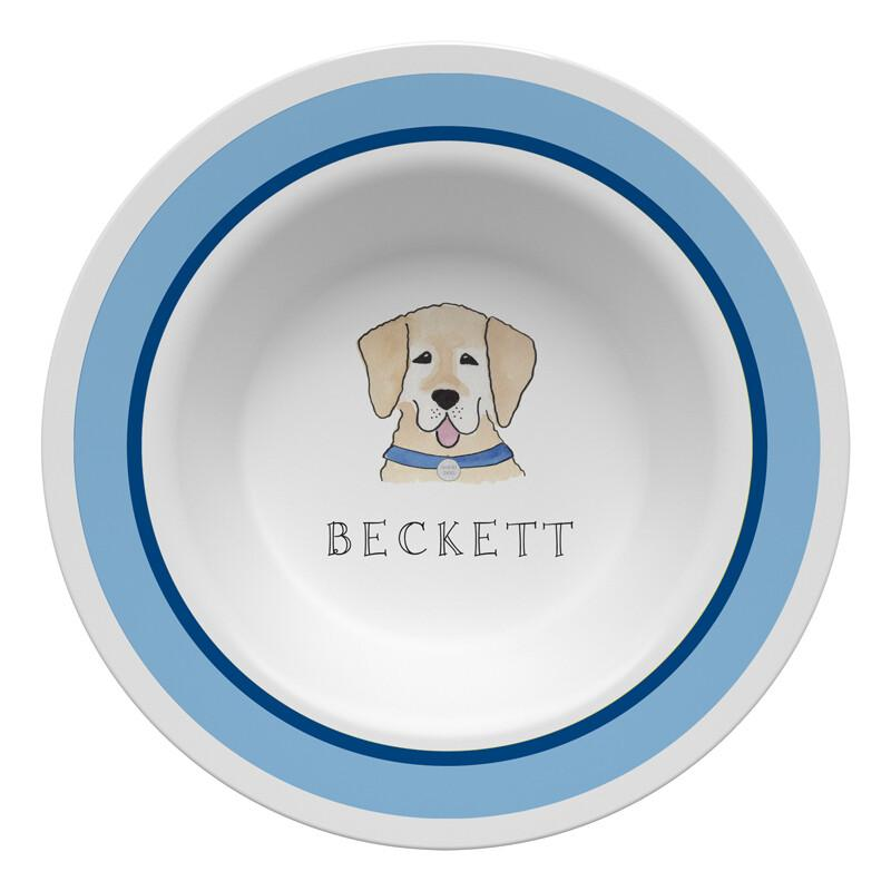 Happy Tails Dog Tabletop Collection - Bowl - Personalized