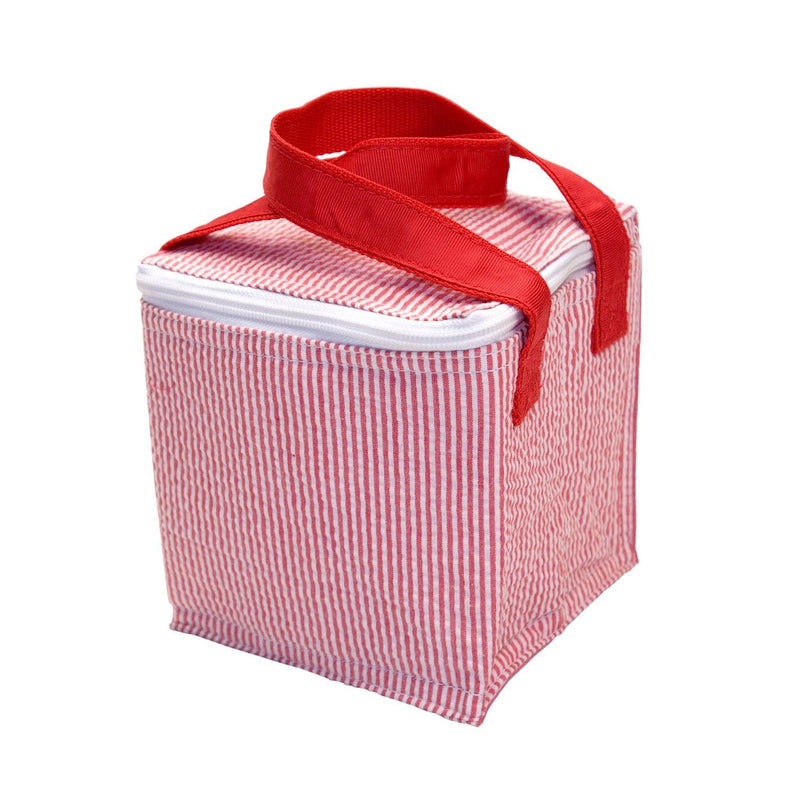 Snack Square - Monogrammed - Red