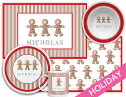 Gingerbread Man Tabletop Collection