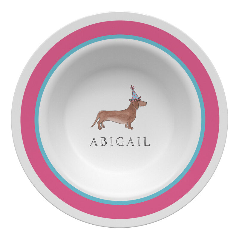 Party Animals Plate Set - Bowl