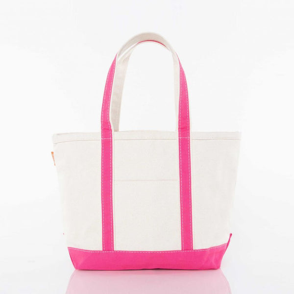 Medium Boat Tote - Hot Pink
