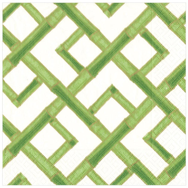 Green Bamboo Dinner Napkin
