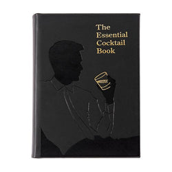 The Essential Cocktail Leather Bound Book