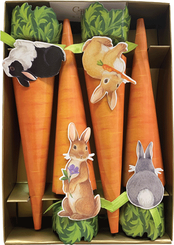 Bunny Carrot Easter Crackers
