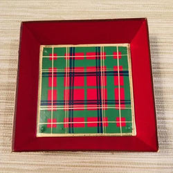 Christmas Plaid Cocktail Napkin Holder