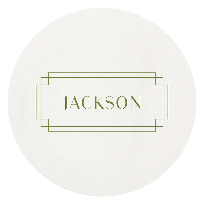 Personalized Disposable Letterpress Coasters