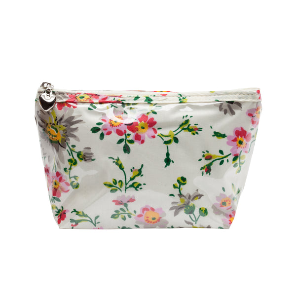Small Cosmetic Bag - Cream Spring