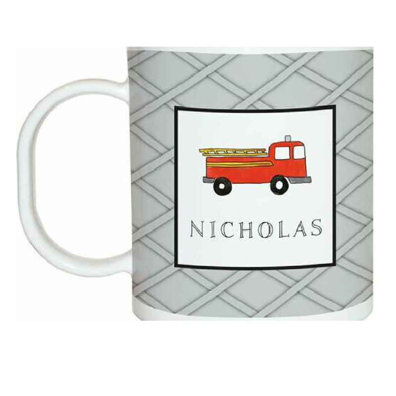Firetruck Tabletop Collection - Mug - Personalized