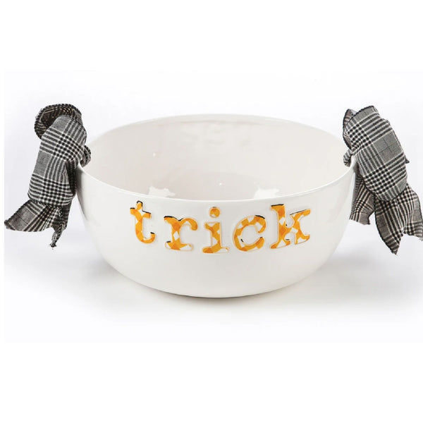 Halloween Candy Bowl - Trick