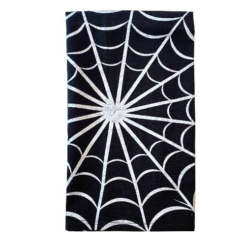 Halloween Hand Towel - Spider Web