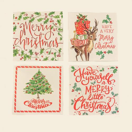 Christmas Gift Enclosure Cards - Merry Christmas