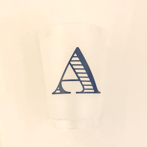 Single Initial Grab & Go Cups - A