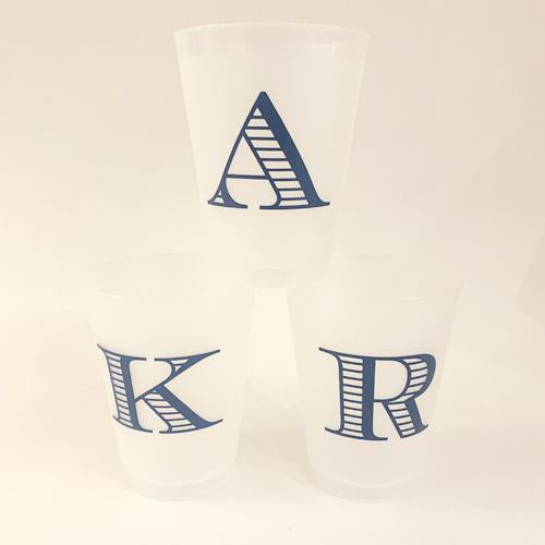 Single Initial Grab & Go Cups