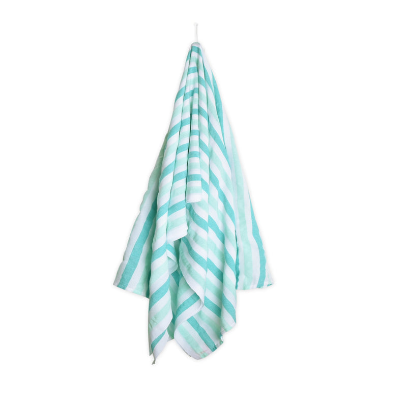 Striped Beach Blanket - La Jade