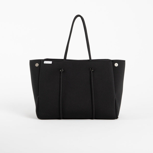 Neoprene Everything Tote - Black - Personalize