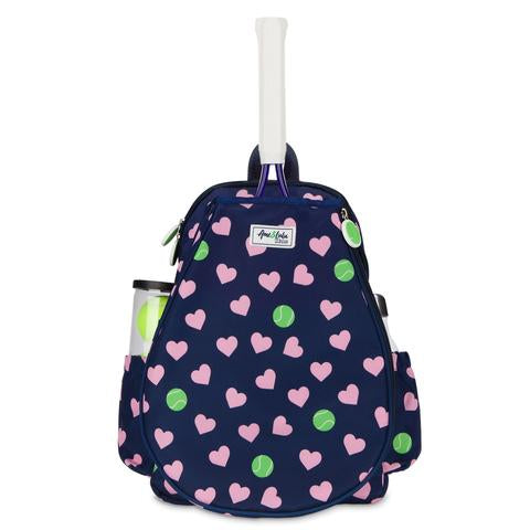 Children's Tennis Backpack - Little Love Hearts
