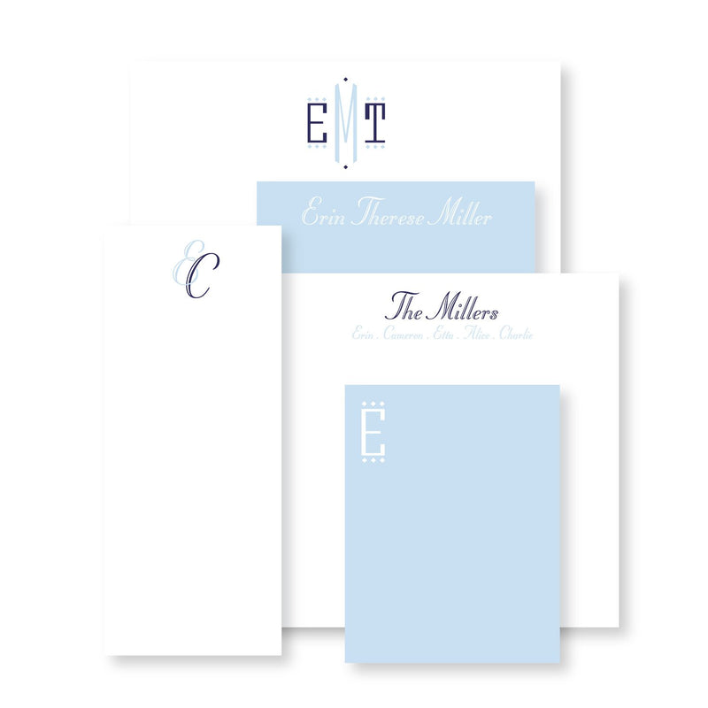 Luxe Set of Notepads - Various Sizes