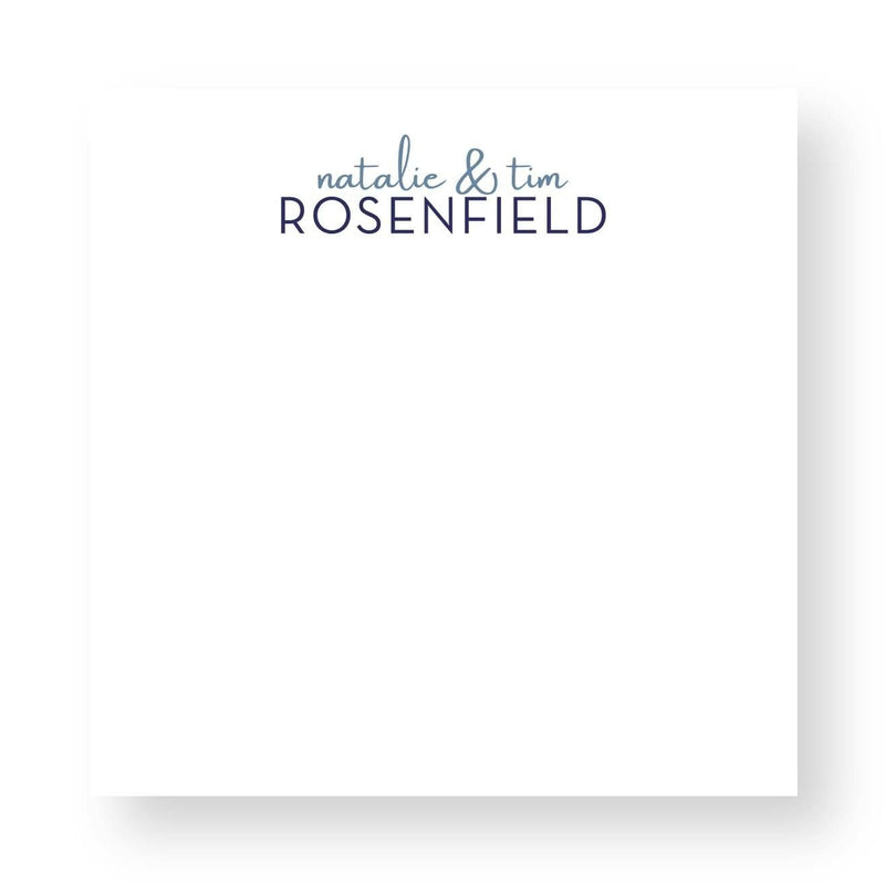 Rosenfield Notepad - Personalized