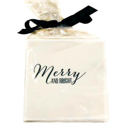 Merry & Bright Christmas Napkins