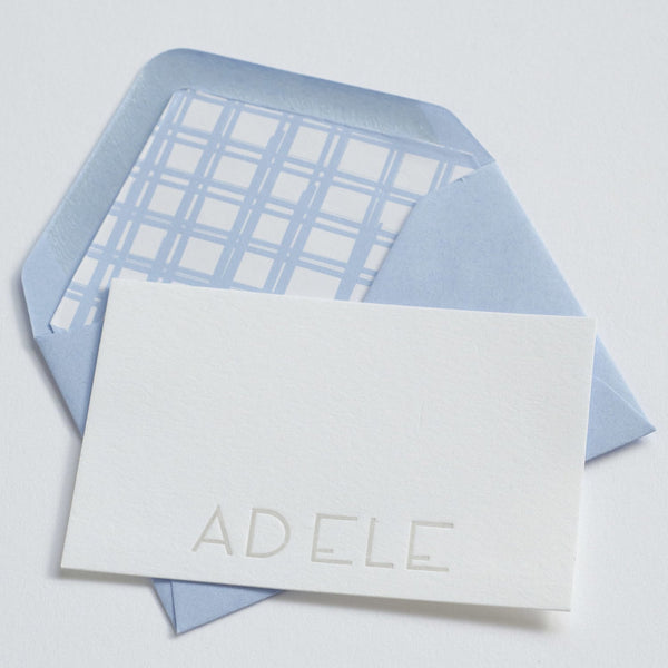Adele Stationery Note & Enclosure Cards