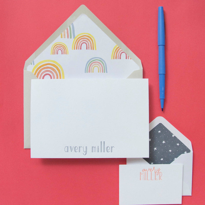 Avery Stationery Note & Enclosure Cards