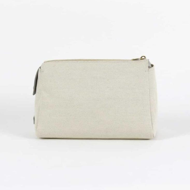 Stone Canvas Pouch - Medium - Personalize or Monogram
