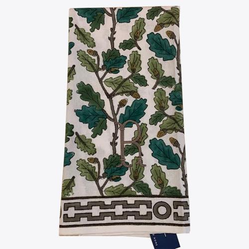 Oak Leaf Tea Towel