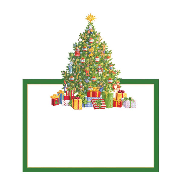 Christmas Tree Place Cards, set of 8