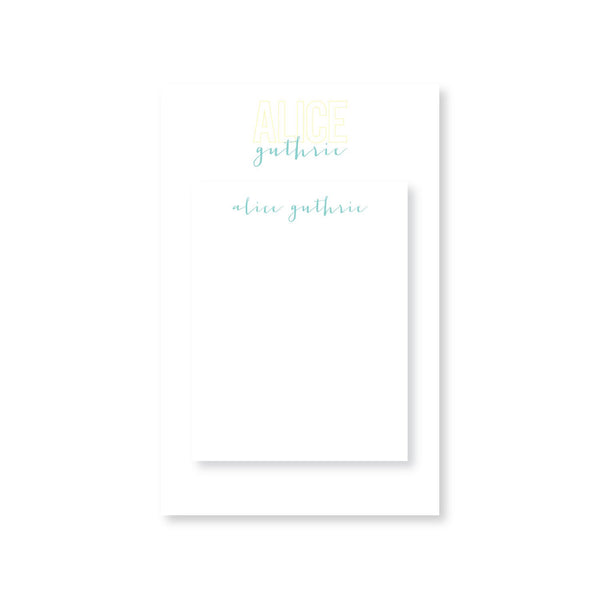 Alice Guthrie Partner Pair Notepads