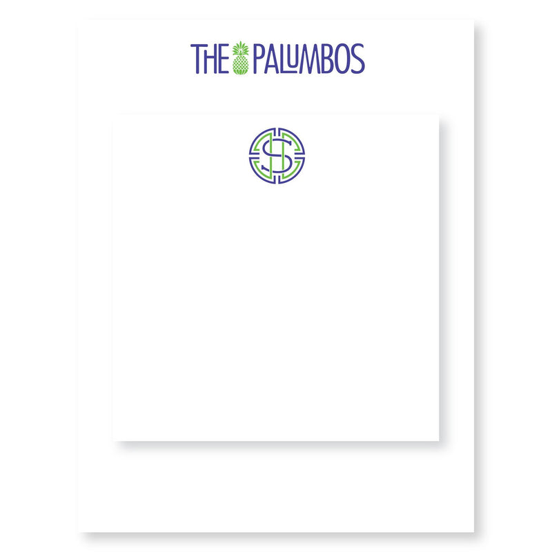Palumbos Partner Pair Notepads - Personalized