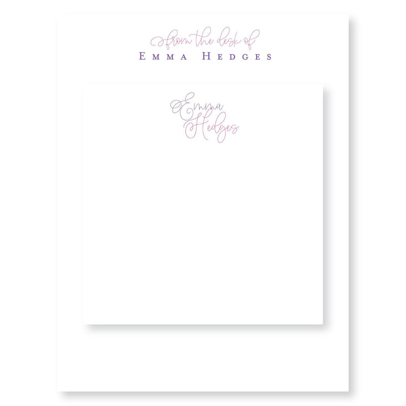 Emma Hedges Partner Pair Notepads