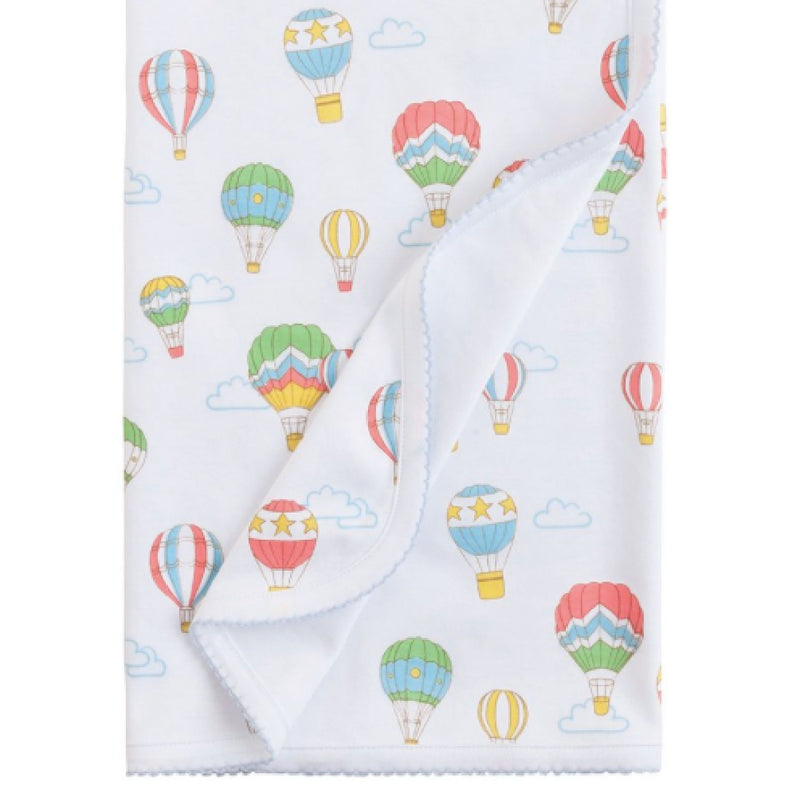 Printed Baby Blanket - Balloons - Monogram or Personalize