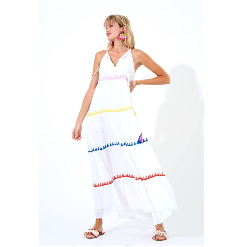 Salsa Long Tiered Dress