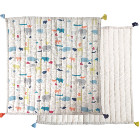 Animal Playmat & Blanket