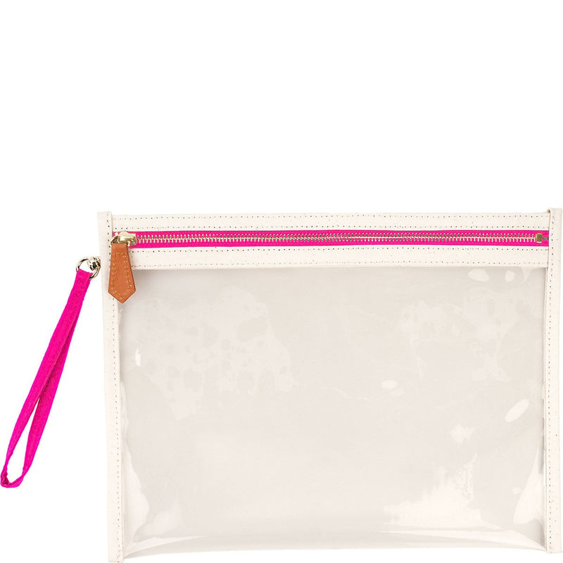 Terra Large Clear Pouch - Candy