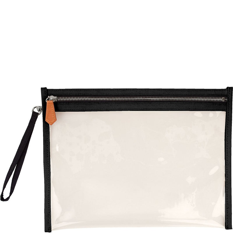 Terra Large Clear Pouch - Jet