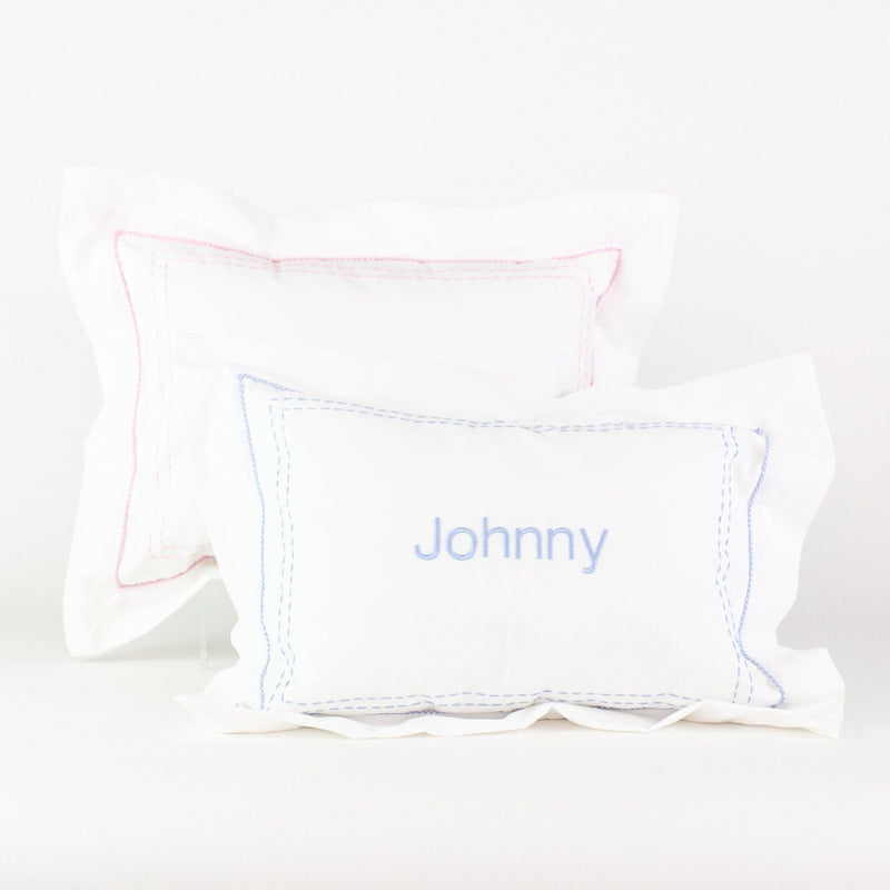 Stitched Boudoir Pillow - Monogrammed or Personalized