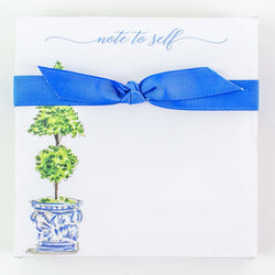 """Note to Self"" Double Topiary Notepad"