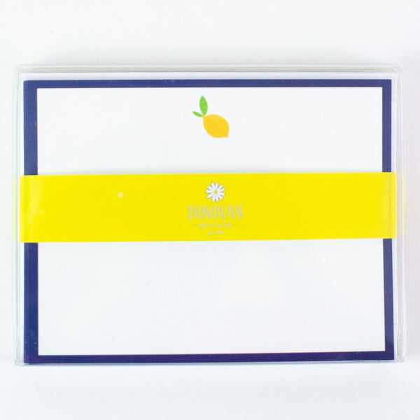 Lemon Notecard Set