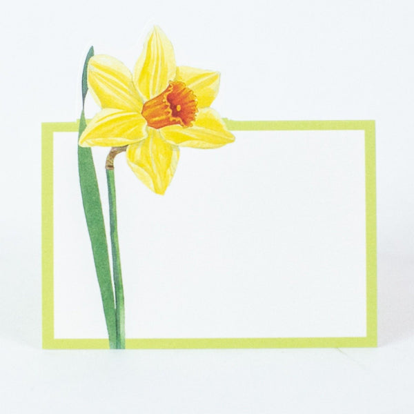 Daffodil Place Cards, Set of 8