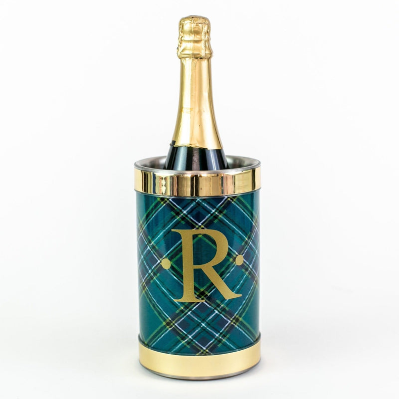 Tartan Wine Chiller - Monogram