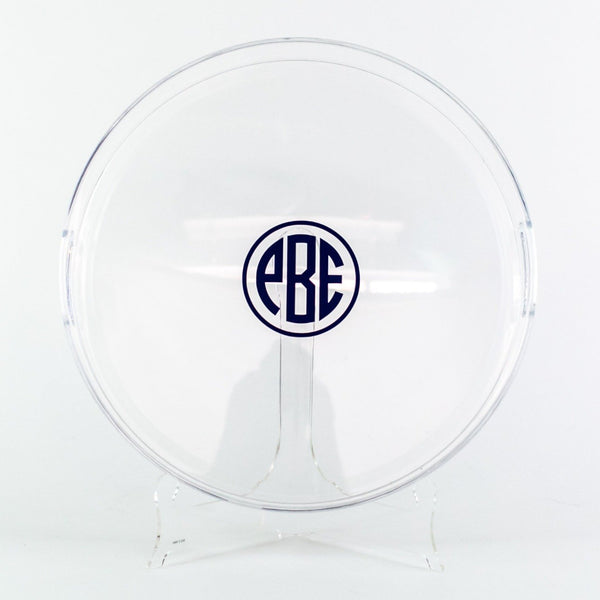 Acrylic Round Tray - Monogrammed or Personalized