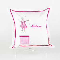 Tooth Fairy Pillow - Monogrammed or Personalized - Pink