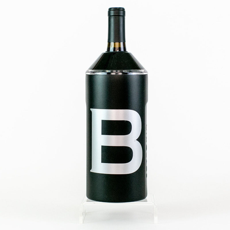 Vinglace Wine Chiller - Black - Monogrammed