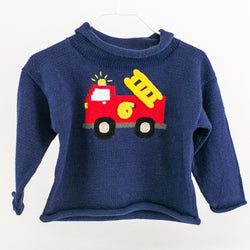Firetruck Rollneck Sweater